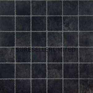 20 x black square self adhesive stick on vinyl flooring for Vinyl square floor tiles