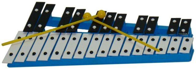 Steinbach Glockenspiel 12 rote Klangplatten diatonisch