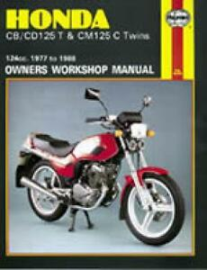 haynes workshop service repair manual honda cb125t cd125t cm125cimage is loading haynes workshop service repair manual honda cb125t cd125t