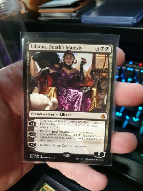 MTG Liliana, Death's Majesty Amonkhet   AKH Mythic Rare   Magic NM
