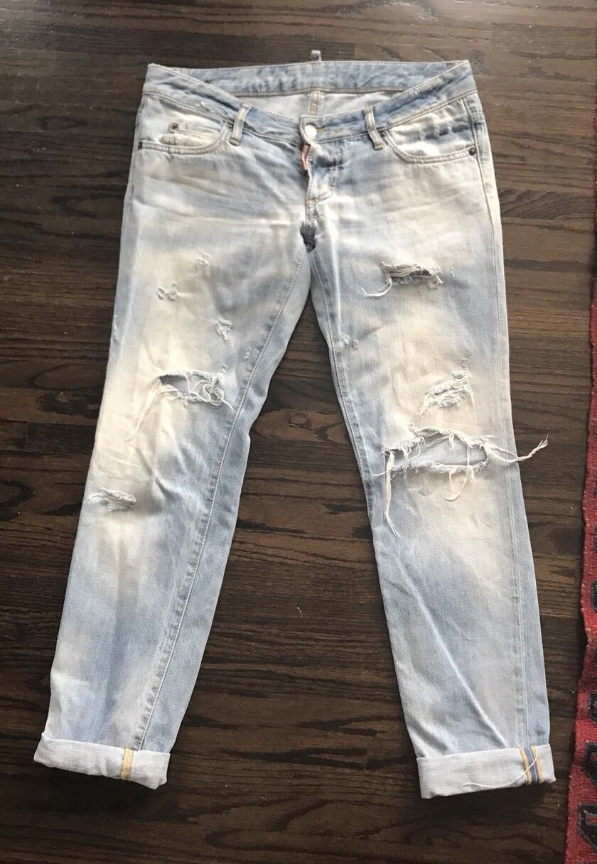 Cool Dsquared2 Light bluee Jeans Size 42