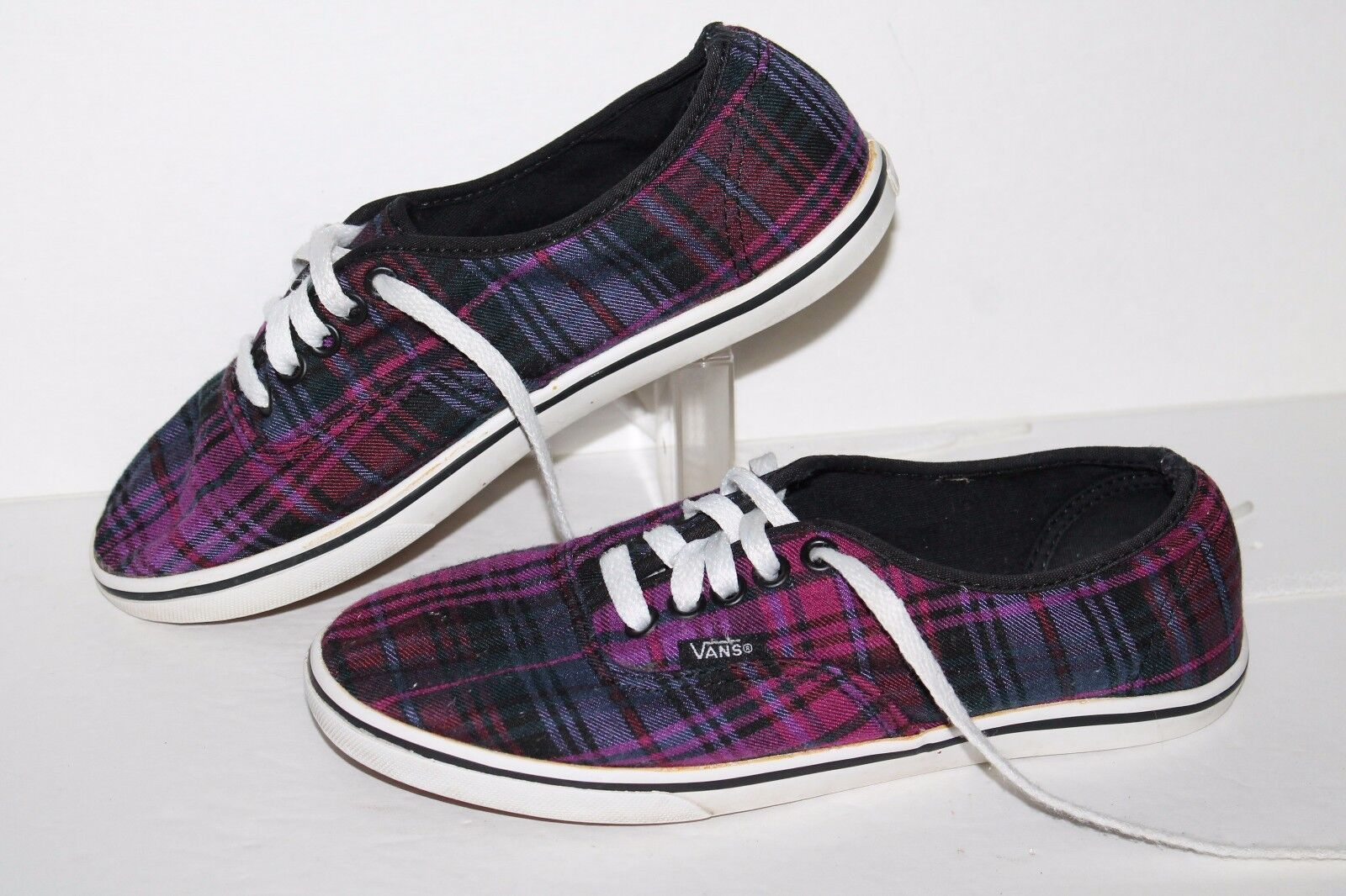 VANS Casual Sneakers, #TB47, Size Purples/Black, Womens US Size #TB47, 6.5 98456d