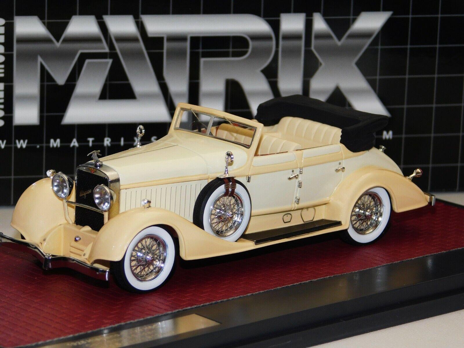 HISPANO SUIZA H6C cabriolet berline Hibbard & Darrin Matrix MX50806-051 1 43