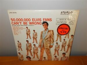 Elvis-Presley-Gold-Records-Vol-2-50-000-000-Fans-Original-Stereo-LP