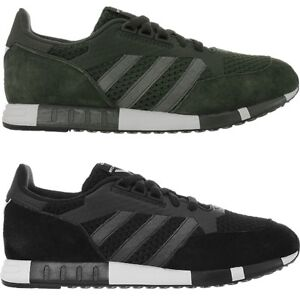 uomo scuro Boston Adidas pelle verde Wm bassa da color Super Sneaker Primekit scamosciata in qF1O40xtw