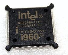 INTEL i960 16MHz NG80960JA16 80960JA 1994 134-PIN SOCKET QFP132 CPU!!