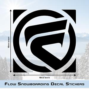 FLOW SNOWBOARD DECAL STICKER