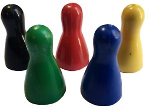 HALMA-PAWN-Opaco-plastico-juego-de-MESA-CONTADORES-habilidad-matematica