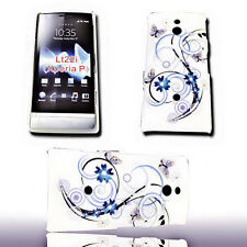 Design 1 movil back cover, funda protectora, funda protectora para Sony Xperia P
