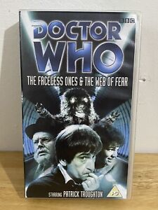 Doctor-Who-The-Faceless-Ones-amp-The-Web-Of-Fear-Vhs-Video-Patrick-Throughton