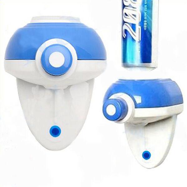 Zahncreme Zahnpasta-Spender Toothpaste Dispenser quetschen Automatisch Badzimmer