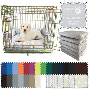 Dog-Bed-Chew-Resistant-Waterproof-Puppy-crate-Pad-Cushion-Bumper-Heavy-Duty