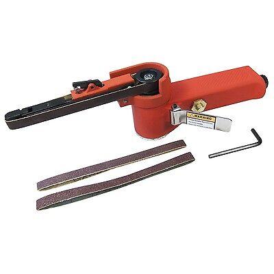 Heavy Duty Air Sander Belt Sander 10mm X 330mm Finger File 3 Belts 3yr Warranty Buy One Give One