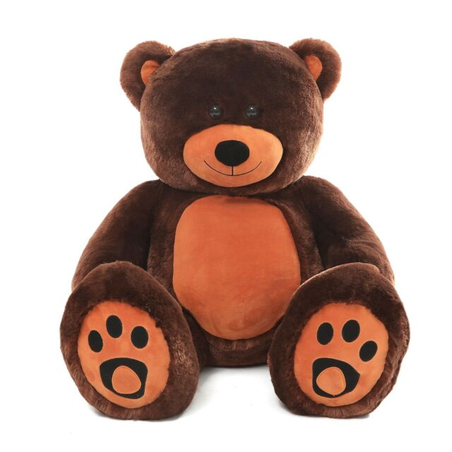 Huge Teddy Bear 6ft Soft Stuffed Plush Animal Toys 72 Birthday