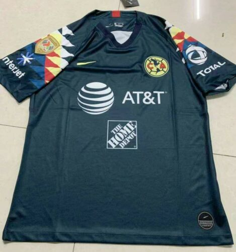 NEW 2019-20 Club America Home//Away soccer Jersey And A18 LIGA MX CAMPEON patch