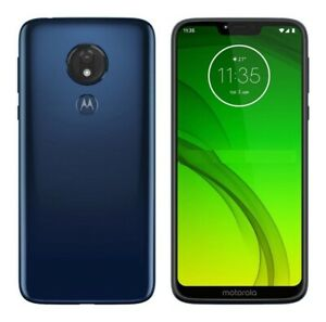 Motorola Moto G7 Power 32GB Marine Blue Unlocked 6.2 inches XT1955 Smartphone