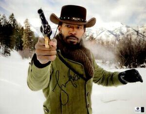 Jamie-Foxx-Signed-Autographed-11X14-Photo-Django-Unchained-w-Gun-GV892872