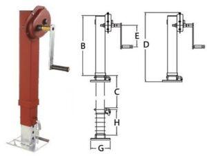 Simol-Sattelstuetzwinde-10-000-kg-10-to-Traglast-Stuetzfuss-Stuetzvorrichtung
