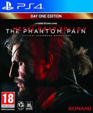 Metal Gear Solid V: The Phantom Pain PS4 (Sony PlayStation 4, 2015) - 1st Class