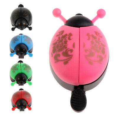Kids Bike Bell Bicycle Ladybird Bell Cute Ladybug Alarm Device For Cycling Trend