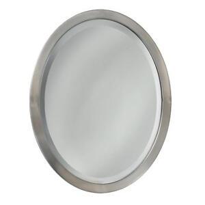 Original Nickel Bathroom Mirror Rectangular Brushed Nickel Bathroom Mirror