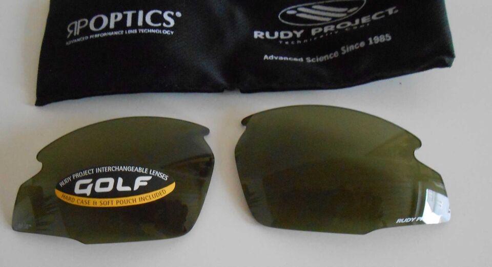 Briller, Løse Linser Golf Grøn, Rudy Project
