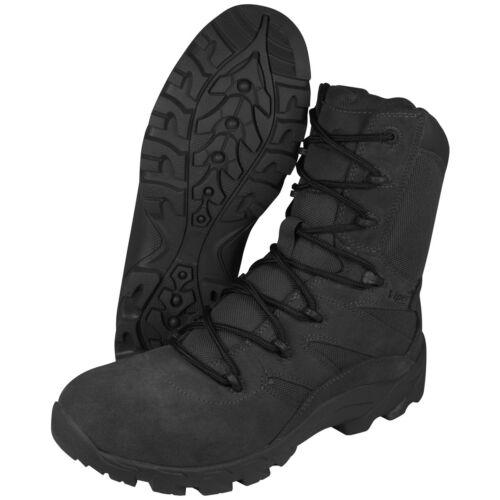 Viper Tactical Covert Mens Boots Military Combat Footwear Cordura Suede Black