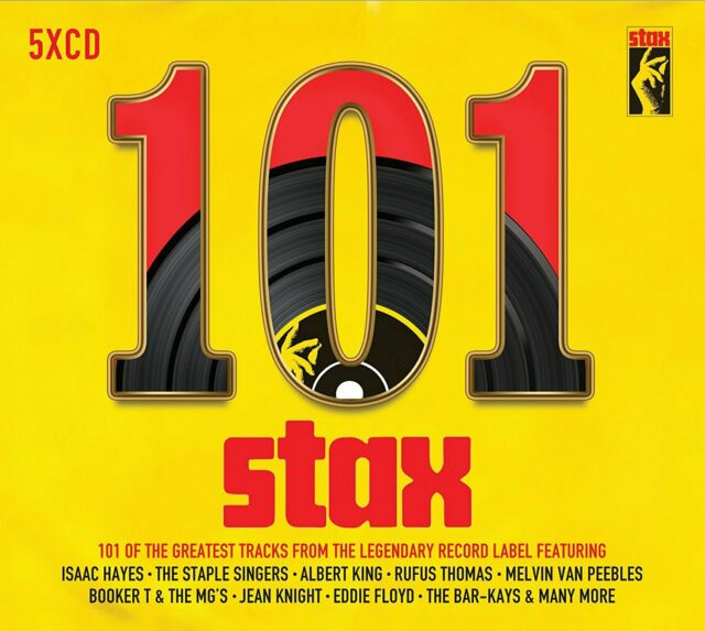 101 Stax VARIOUS ARTISTS 101 Greatest Songs From The Record Label NEW 5 CD