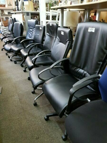 WE ARE OPEN - 30% SALE ON OUR USED AND REFURBISHED OFFICE FURNITURE AND CHAIRS