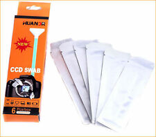 6PCS Dry Sensor Cleaner Full Frame CCD SWAB For D-SLR