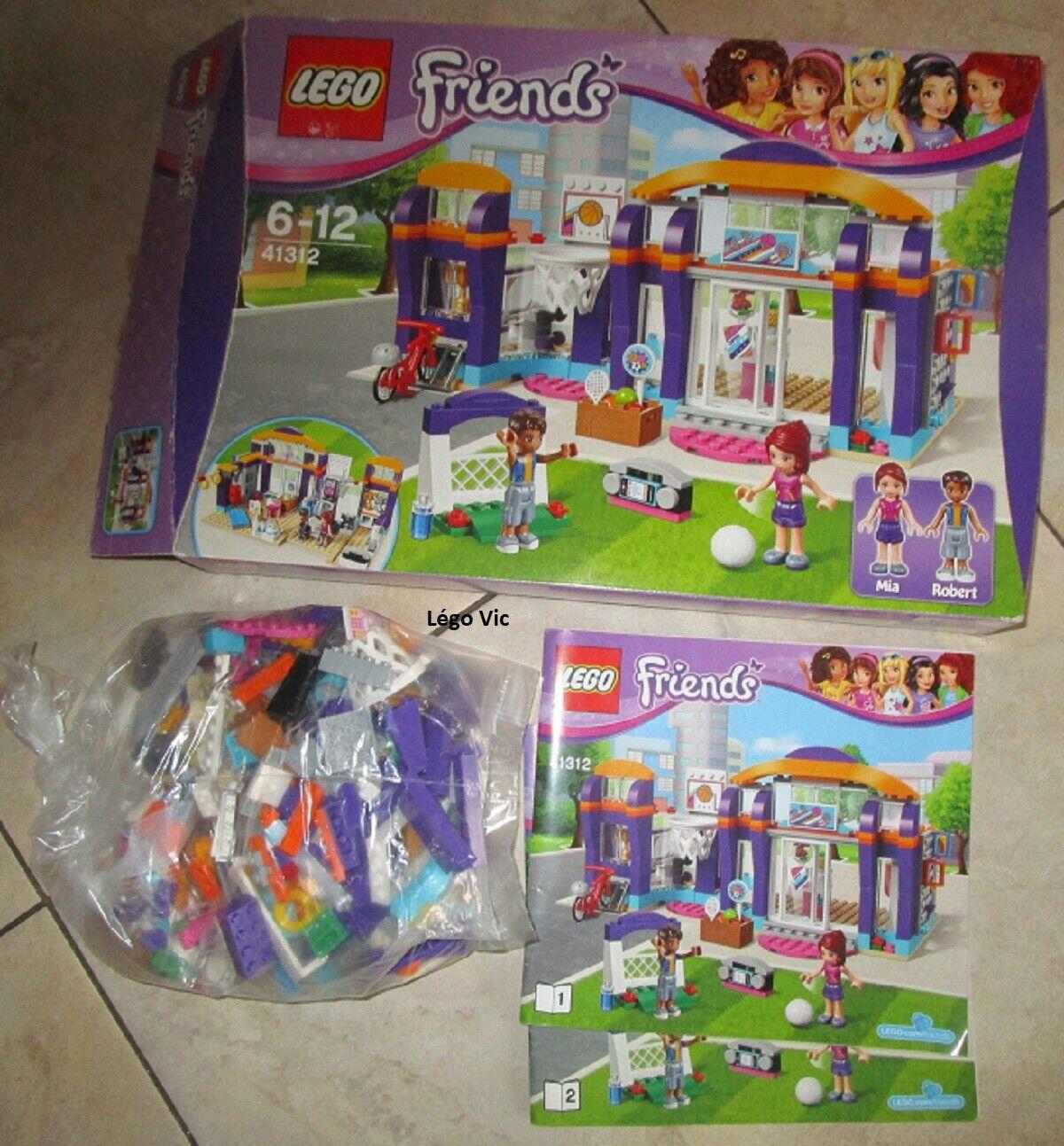 Lego 41312  Friends Heartlake  Sports Centre + Notice + Boite CNB24  prezzo all'ingrosso e qualità affidabile