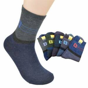 1-5-Pairs-Mens-Wool-Cashmere-Socks-Lot-Design-Thick-Warm-Casual-Winter-Fashion