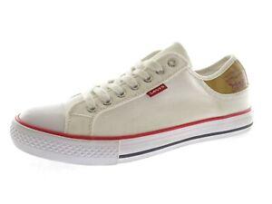 Levis Damen Sneaker Laufschuhe Schnürschuhe Freizeitschuhe Gr 41 Weiß