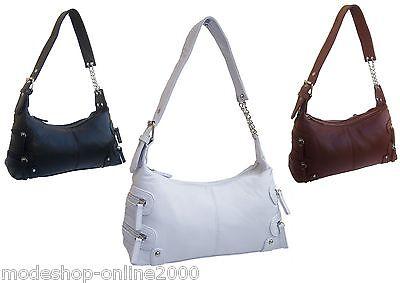 Tasche Damentasche Handtasche Schultertasche in Lederoptik Farbwahl NEU!!!
