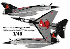 "[FFSMC Productions] Decals 1/48 : Mirage F1CR  100 ans de la BR11 ""la Cocotte"""