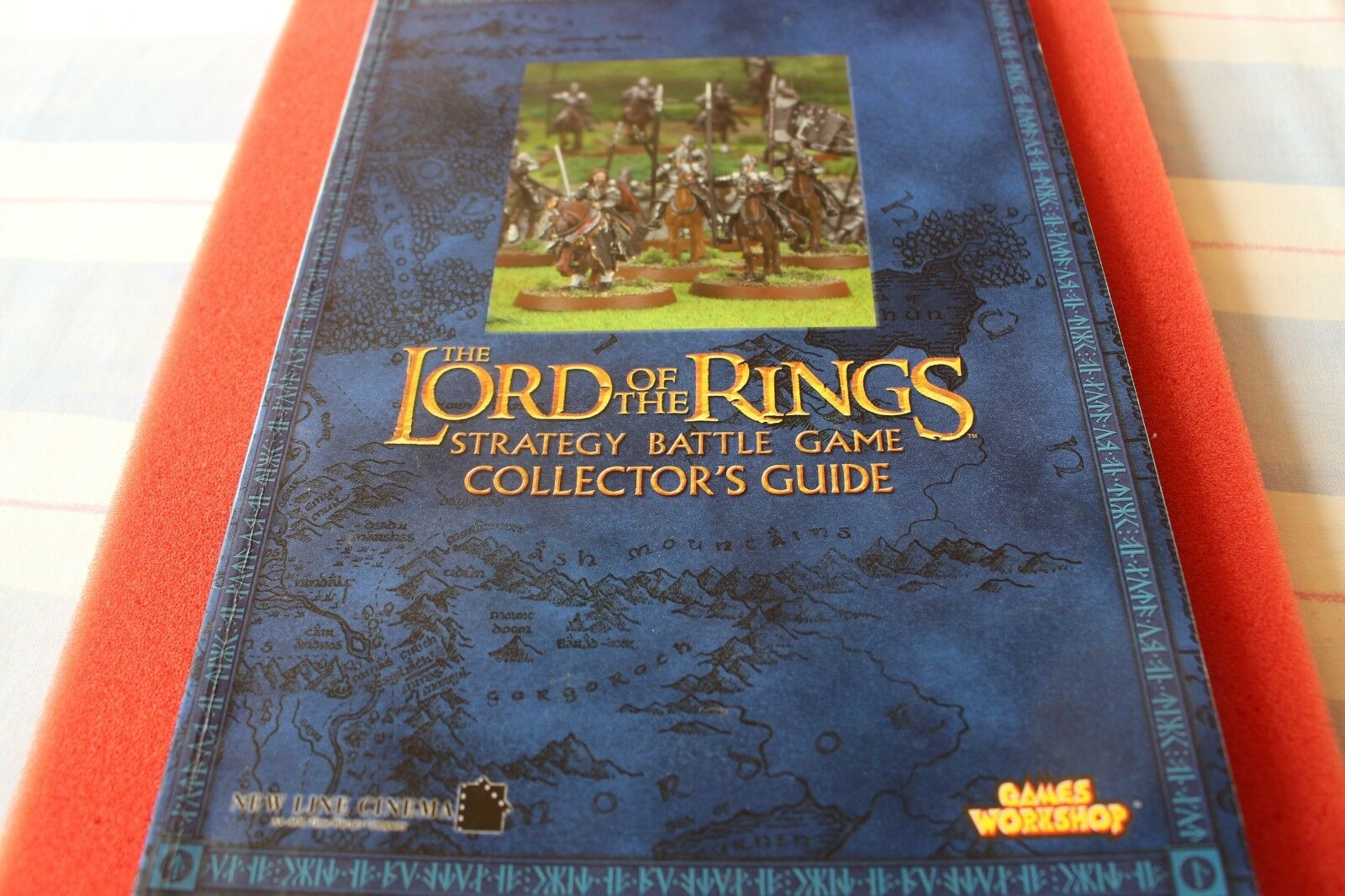 Games Workshop LoTR Lord of the Rings Collectors Guide Middle Earth Book OOP GW