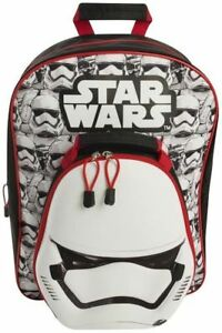 36353a82e7e0 Image is loading Starwars-Deluxe-3d-Padded-Rucksack-With-Insulated-Lunch-
