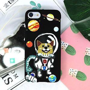 Corgi-in-space-Hard-case-iPhone-11-pro-max-X-XS-8-7-6-Galaxy-S10-S9-S8-Note-9
