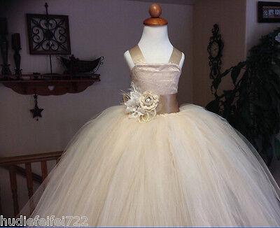2017  Flower Girl Dress Wedding Easter Junior Bridesmaid Baptism Baby