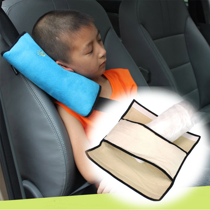 Baby Safety Car Seat Belts Cover Harness Pillow Shoulder
