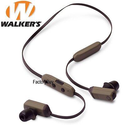 Walker/'s Game Ear GWP-BTN-BT Razor XV 3.0 Bluetooth Headset Tan//Blck Behind Neck