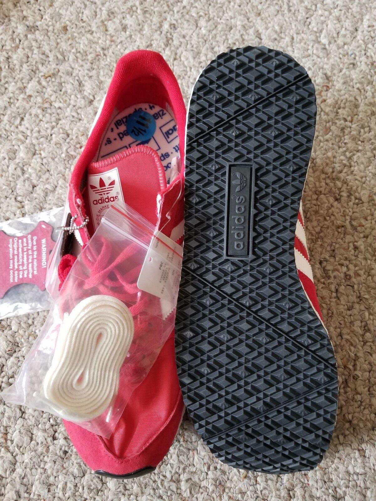 New Adidas Originals Atlanta Spezial Scarlet Red White Men 11.5 BY1880