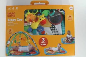 Bright Starts Zippy Zoo Activity Gym Mat 0+ Months Infant Baby Musical Play Toy