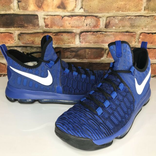 best website ed24a 2baa3 Nike Zoom KD Kevin Durant Mens Size 10.5 Game Royal White Black Basketball  Shoes