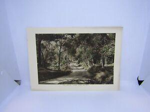Old-antique-colour-print-Loch-Katrine-twines-the-path-Scotland-27-x-19-cm