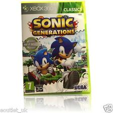 Sonic Generations Classics Xbox 360 X360 Game BRAND NEW & SEALED UK PAL