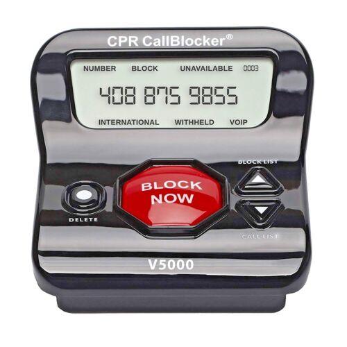 Scam Calls Political Calls Call Blocker CPR V5000 Landline Block All Robocalls