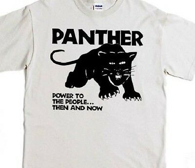 """Black Panther /""""Power to the People/"""" T-Shirt"""