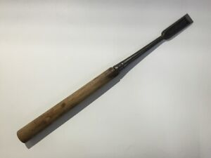 Japanese-Chisel-Tsuki-Nomi-Vintage-Signed-Carpenter-Tool-Wood-Working-Y497