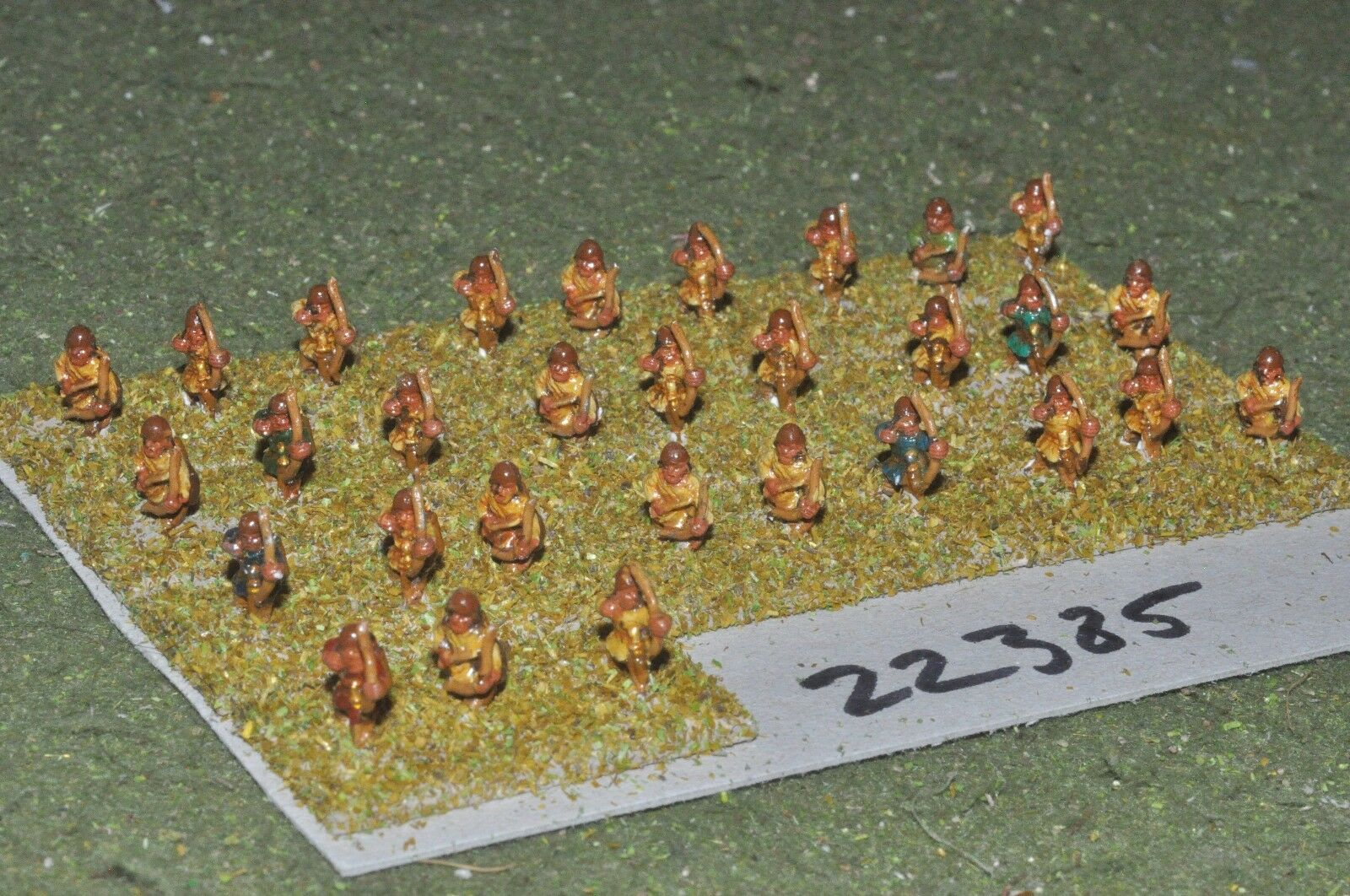 10mm Roman era   sassanid - archers 30 figs - inf (22385)